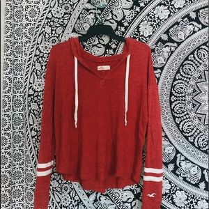 🌟Red Hollister sweater🌟